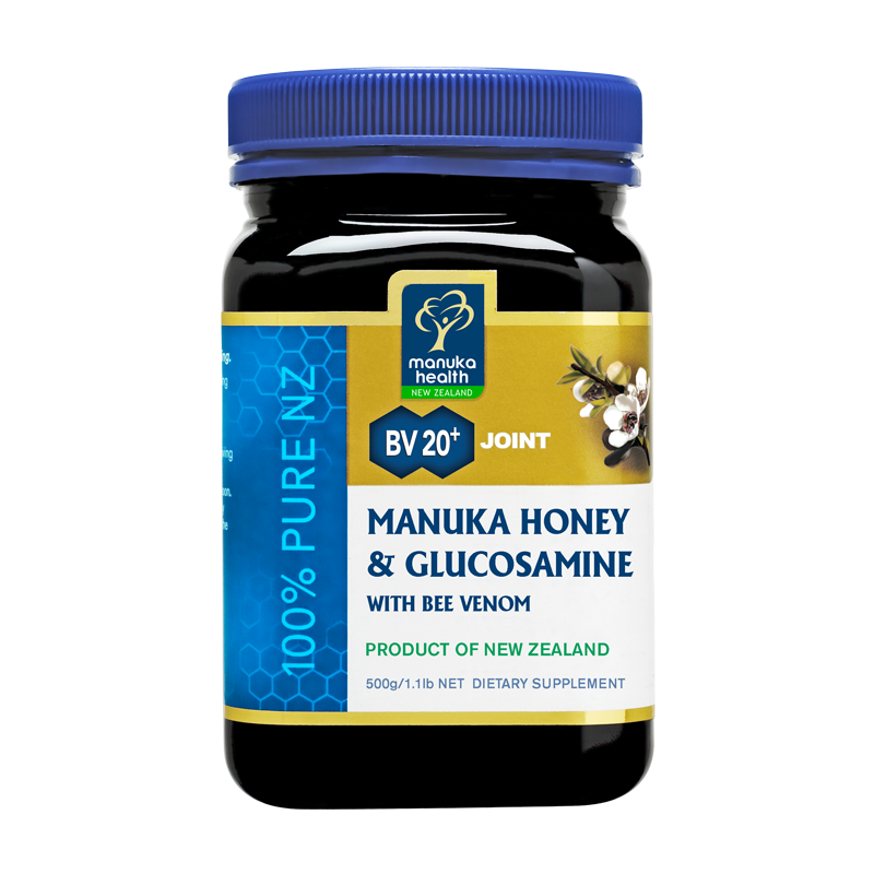 Manuka Health Manuka Honey & Glucosamine With Bee Venom 500gr - Daftar Update Harga Terbaru Indonesia