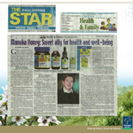 Manuka Health Zealand gets a mention from the Philippine Star