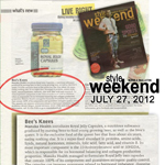 Thank you to Manila Bulletin & Style Weekend for featuring our popular Royal Jelly Capsules