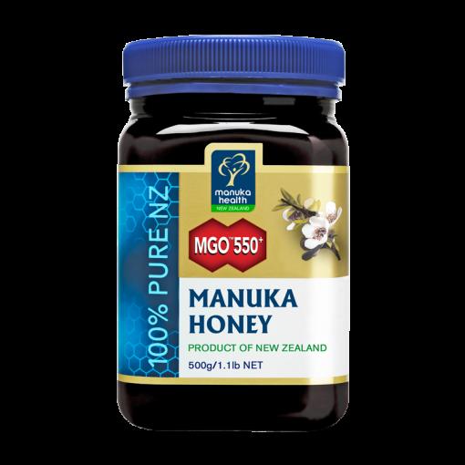 MGO™550+ Manuka Honey (500g)