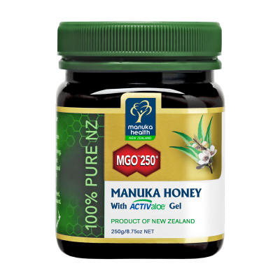 MGO 250+ Manuka Honey & ACTIValoe Gel
