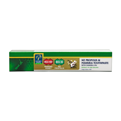 Manuka Health's Bio 30™ & MGO™ 400+ Manuka Honey Toothpaste (Manuka Oil)