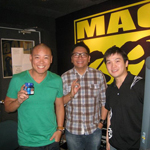 Magic 89.9 Boys Night Out's Dj Tonytoni & DJ Slick Rick with Charles Ley
