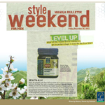 Thank you to Manila Bulletin Style weekend for featuring our Manuka Honey